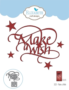 Elizabeth Craft Designs - Die - Make A Wish by Suzanne Cannon