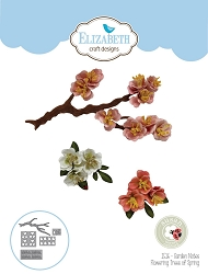 Elizabeth Craft Designs - Die - Garden Notes Flowering Trees of Spring by Susan Tierney Cockburn