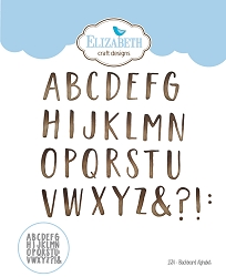 Elizabeth Craft Designs - Die - Blackboard Alphabet