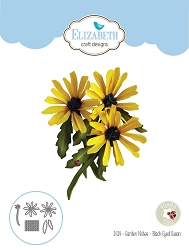 Elizabeth Craft Designs - Die - Garden Notes Black-Eyed Susan by Susan Tierney Cockburn