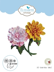 Elizabeth Craft Designs - Die - Garden Notes Dahlia 2 by Susan Tierney Cockburn