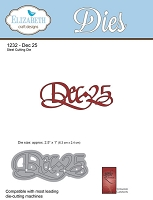 Elizabeth Craft Designs - Die - by Suzanne Cannon - Dec 25