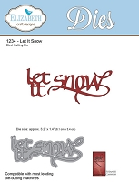 Elizabeth Craft Designs - Die - by Suzanne Cannon - Let It Snow