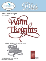 Elizabeth Craft Designs - Die - by Suzanne Cannon - Warm Thoughts