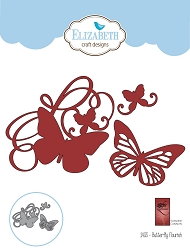 Elizabeth Craft Designs - Die - Butterfly Flourish by Suzanne Cannon