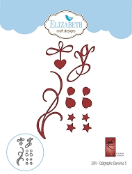 Elizabeth Craft Designs - Die - Calligraphic Elements 3 by Suzanne Cannon