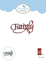 Elizabeth Craft Designs - Die - Family by Suzanne Cannon