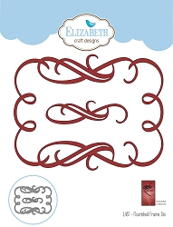 Elizabeth Craft Designs - Die - Flourished Frame by Suzanne Cannon