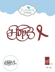 Elizabeth Craft Designs - Die - Hope by Suzanne Cannon