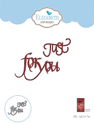 Elizabeth Craft Designs - Die - Just For You by Suzanne Cannon