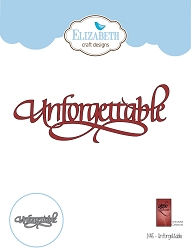 Elizabeth Craft Designs - Die - Unforgettable by Suzanne Cannon