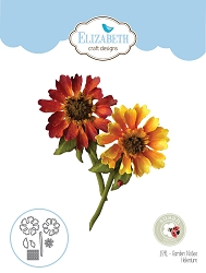Elizabeth Craft Designs - Die - Garden Notes Helenium by Susan Tierney Cockburn
