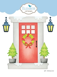 Elizabeth Craft Designs - Die - Christmas Door