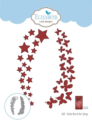 Elizabeth Craft Designs - Die - Butterflies & Stars Sprays by Suzanne Cannon
