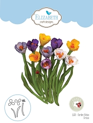 Elizabeth Craft Designs - Die - Garden Notes Crocus by Susan Tierney Cockburn