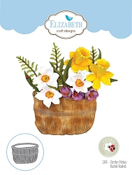 Elizabeth Craft Designs - Die - Garden Notes Bushel Basket by Susan Tierney Cockburn (flowers not included)
