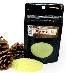 Emerald Creek - Lime Baked Velvet embossing powder by Seth Apter