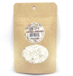 Emerald Creek - Marshmallow Rock Candy embossing powder by Pam Bray