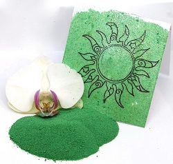 Emerald Creek - Mineral Green Boho Blends embossing powder by Gwen Lafleur