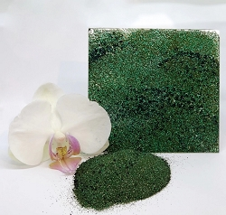 Emerald Creek - Kano Green Boho Blends embossing powder by Gwen Lafleur