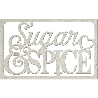 Fab Scraps - Country Kitchen Collection - Chipboard Die Cuts - Sugar & Spice
