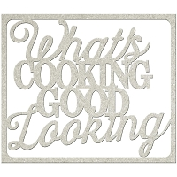 Fab Scraps - Country Kitchen Collection - Chipboard Die Cuts - What's Cooking Good Looking