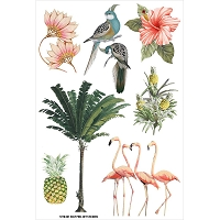 Fab Scraps - Jungle Mist Collection - Pictures Stickers (7.78