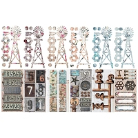 Fab Scraps - Industrial Chic Collection - Journal Pack