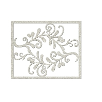 Fab Scraps - Mother Earth Collection - Die-Cut Chipboard Embellishment - Filigree Swirls