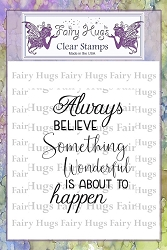 Fairy Hugs - Clear Stamps - Believe