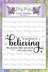 Fairy Hugs - Clear Stamps - Believing