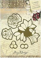Find It Trading - Amy Design Die - Classic Christmas Roses