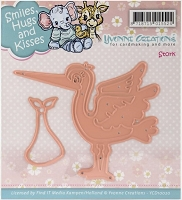 Find It Trading - Yvonne Creations Die - Stork