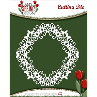 Find It Trading - Amy Design Die - Butterfly Swirl Frame