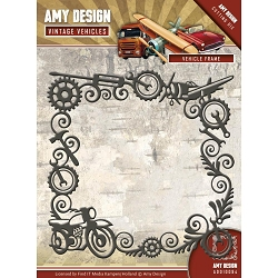 Find It Trading - Amy Design Die - Vintage Vehicles Vehicle Frame
