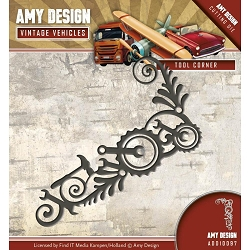 Find It Trading - Amy Design Die - Vintage Vehicles Tool Corner
