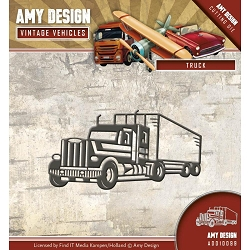 Find It Trading - Amy Design Die - Vintage Vehicles Truck