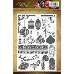 Find It Trading - Amy Design Clear Stamp - Oriental Icons