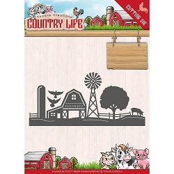 Find It Trading - Yvonne Creations Die - Country Life Farm Border