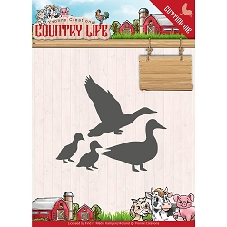 Find It Trading - Yvonne Creations Die - Country Life Ducks