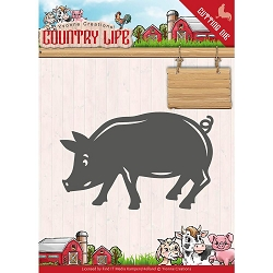 Find It Trading - Yvonne Creations Die - Country Life Pig