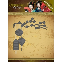 Find It Trading - Amy Design Die - Oriental Chinese Lantern