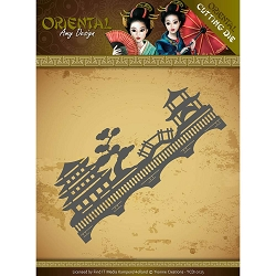 Find It Trading - Amy Design Die - Oriental Chinese Landscape
