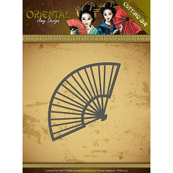 Find It Trading - Amy Design Die - Oriental Chinese Fan