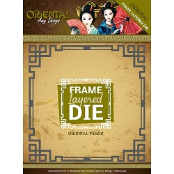 Find It Trading - Amy Design Die - Oriental Frame Layered