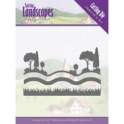 Find It Trading - Jeanine's Art Die - Spring Landscapes Landscape Views