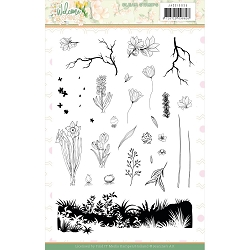 Find It Trading - Jeanine's Art Clear Stamp - Welcome Spring