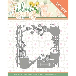 Find It Trading - Jeanine's Art Die - Welcome Spring Frame