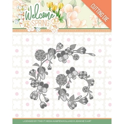 Find It Trading - Jeanine's Art Die - Welcome Spring Garland