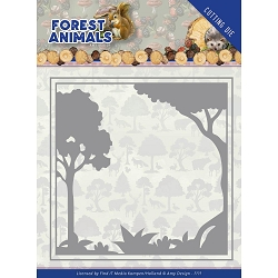 Find It Trading - Amy Design Die - Forest Animals Forest Frame